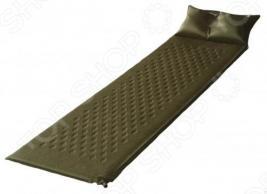 Коврик туристический самонадувающийся с подушкой Larsen Camp HT006
