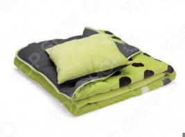 Покрывало для кровати Dormeo Symphony 3 в 1. 2-спальный. Цвет: зеленый