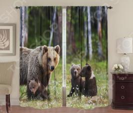 Фотошторы ТамиТекс «Большая медведица»