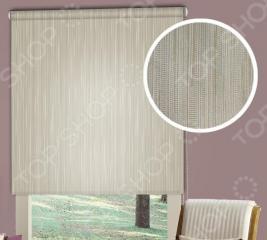 Рулонная штора Эскар «Стоун». Цвет: золотистый