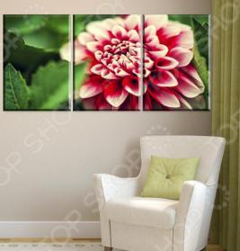 Картина модульная «Цветок желаний»