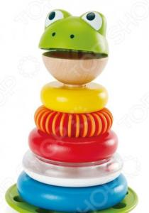 Пирамидка-неваляшка Hape Mr. Frog