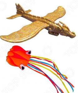 Набор: воздушный змей и планер Bradex «Покорители небес»