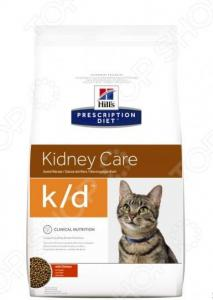 Корм сухой диетический для кошек Hill's K/D Prescription Diet Feline Kidney Care