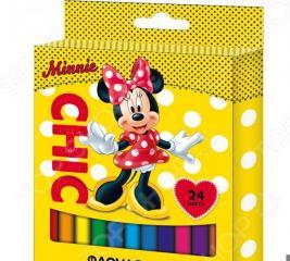 Набор фломастеров Disney «Минни»: 24 цвета