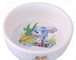 Миска для грызунов DEZZIE «Вкусный обед» 5637002