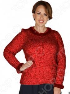 Жакет VAY «Антея». Цвет: бордовый