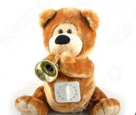 Мягкая игрушка интерактивная «Медвежонок с таймером»