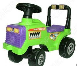 Машина-каталка POLESIE «Трактор Митя №2»
