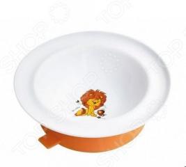 Тарелка с присоской LUBBY «Весёлые животные»