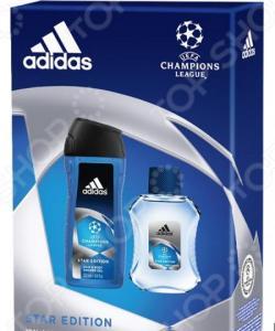 Набор мужской: досьон после бритья и гель для душа Adidas UEFA Star Edition