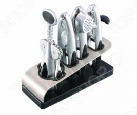 Набор кухонных инструментов на подставке Gipfel BRAVO 6075