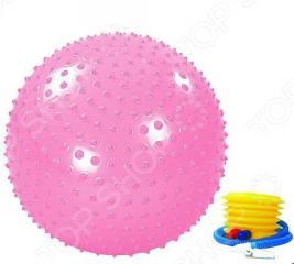 Мяч массажный с насосом Alonsa MG-1