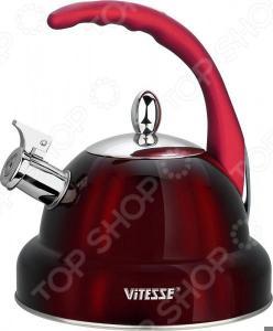 Чайник со свистком Vitesse VS-1117. В ассортименте