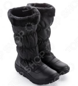 Зимние сапоги женские Walkmaxx COMFORT «БЛЕСК» 4.0. Цвет: черный