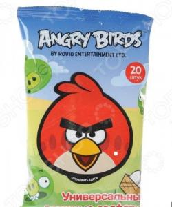 Набор салфеток влажных детских Авангард AB-48738 Angry Birds