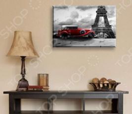 Картина ТамиТекс «Красная машина»