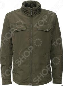 Куртка Finn Flare B16-22008. Цвет: хаки