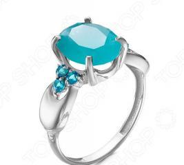 Кольцо «Голубая волна» 1000-0141
