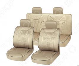 Набор чехлов для сидений SKYWAY Drive. Материал: полиэстер
