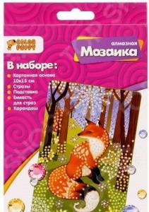 Набор для создания мозаики Color Puppy «Лисичка»
