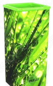 Подставка для ножей Kelli KL-2092-N «Трава»