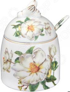 Горшочек для меда Elan Gallery «Белый шиповник» 180446