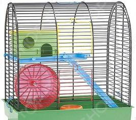 Клетка для грызунов Beeztees 266409 Grim 2 с кормушкой и игровым комплексом