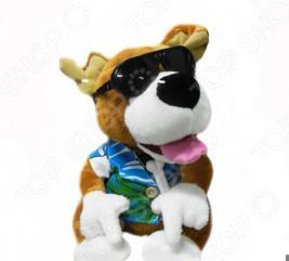 Мягкая игрушка интерактивная 31 ВЕК «Диджей-собачка» CL1505B