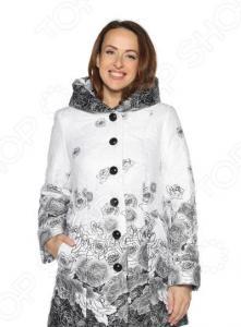 Куртка PitGakoff «Теплое дыхание» с водоотталкивающей пропиткой. Цвет: белый, черный