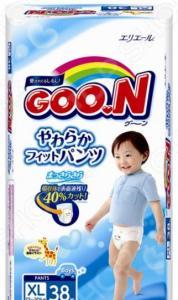 Трусики-подгузники для мальчиков Goon Big (12-20 кг)