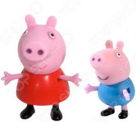 Игровой набор фигурок Peppa Pig «Пеппа и Джордж»