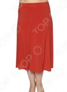 Юбка VEAS «Элегантная». Цвет: оранжевый
