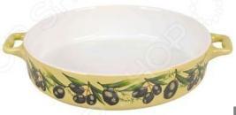 Форма для выпечки керамическая Едим Дома Тоскана
