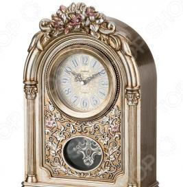 Часы настольные Lefard «Золотые цветы»