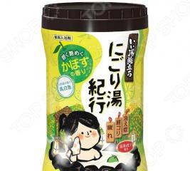 Соль для ванны Hakugen Earth «Банное путешествие» с ароматом цитрусов