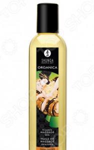 Масло массажное возбуждающее Shunga Organica с ароматом миндаля