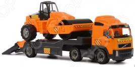 Машина игрушечная с аксессуарами POLESIE Volvo «Дорожный каток»