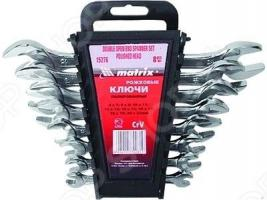 Набор ключей рожковых MATRIX 8 шт.