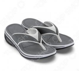 Сланцы женские Walkmaxx Flip Flop. Цвет: серый
