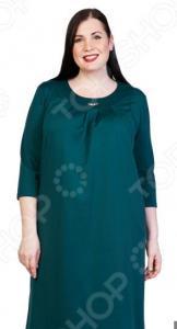 Платье Лауме-Лайн «Счастливый взгляд». Цвет: зеленый