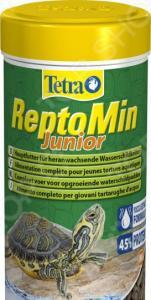 Корм для молодых водных черепах Tetra ReptoMin Junior