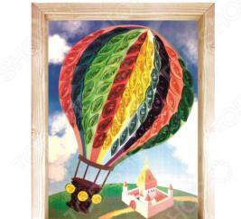 Набор для создания квиллинг-панно Азбука тойс «Воздушный шар»