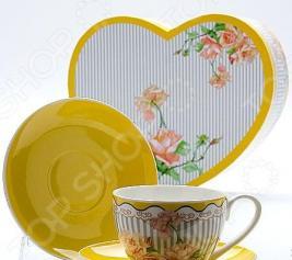 Чайная пара Mayer&Boch MB-22995 «Садовые розы»