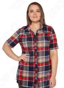 Рубашка NOVA STYLE «Разнообразие». Цвет: красный