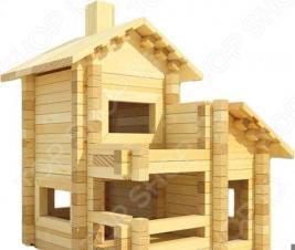 Конструктор деревянный Лесовичок «Разборный домик №4»