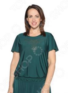 Блуза «Ослепительная». Цвет: зеленый