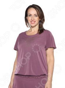 Блуза «Ослепительная». Цвет: сливовый