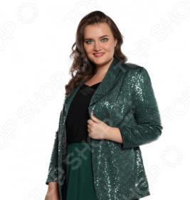 Пиджак Pretty Woman «Блеск звезды». Цвет: зеленый