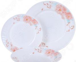 Набор столовой посуды Rosenberg RGC-100101, 18 предметов